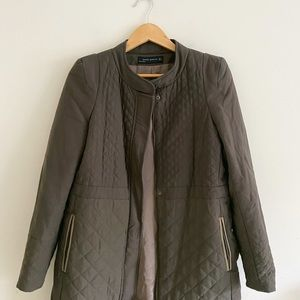 Zara Woman limited edition quilted winter jacket